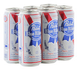 Pabst Blue Ribbon Premium Lager Cans 473mL $56.90 per case at Dan Murphy's