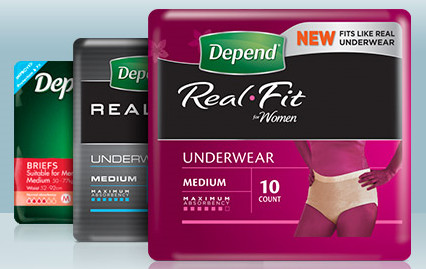Free Sample Of Depend Products