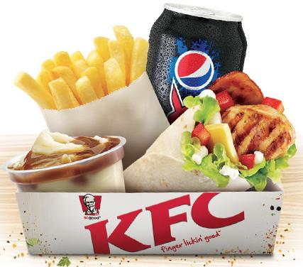 KFC New $5 Box Combo