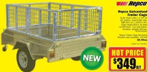 Repco Galvanised Trailer Cage $349