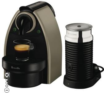 Nespresso BEC100XE Breville Essenza Earth Bundle $80 after $60 Cashback at The Good Guys