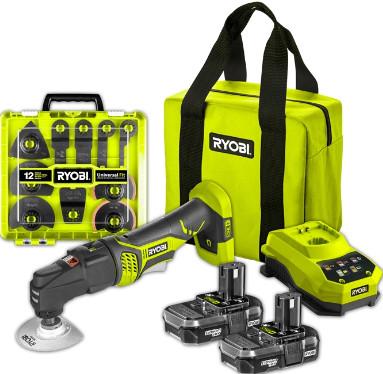 Ryobi One+ 18V 20 Piece Multi Tool Kit $99 at Bunnings