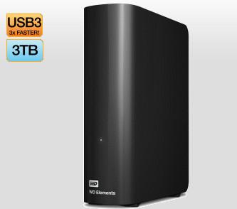 Western Digital 3TB Desktop Hard Drive $138 at JB Hi-Fi