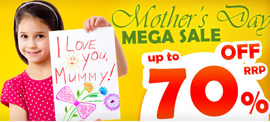 Shopping Square Mother's Day Mega Sale - Up To 70% Off RRP
