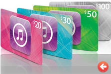 20% off iTunes Gift Cards at Target