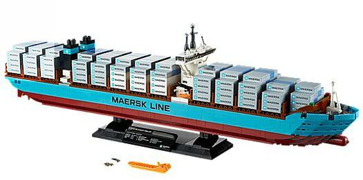 Maersk Line Triple-E $199 Free Shipping at LEGO Shop