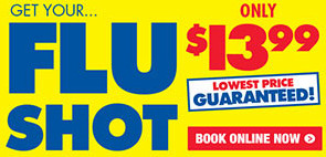 Get Your Flu Shot Only $13.99 at Chemist Warehouse