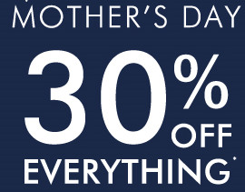30% off Everything from Katies Mother's Day Sale