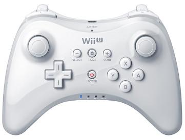 Nintendo Wii U Pro Controller (White) $49 at Target