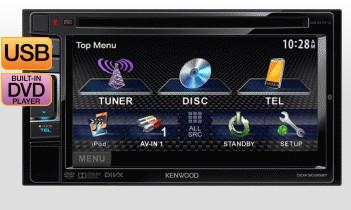 Kenwood 6.1in VGA 2DIN Monitor With DVD Receiver $299 at JB Hi-Fi