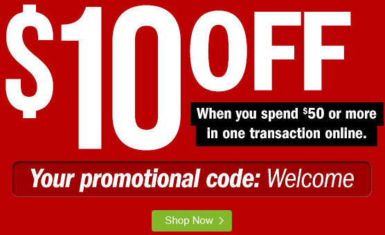 Target Voucher Code - $10 off When You Spend $50 or More