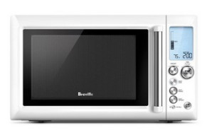 Breville BMO634 The Quick Touch Microwave White $199 at Myer