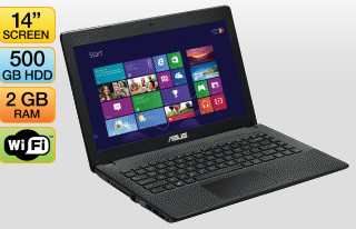 Asus F451 14in Notebook with Windows 8 for $378 at JB Hi-Fi