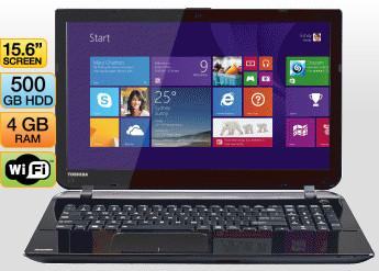 Toshiba Satellite L50-b010 15in Notebook $508 at JB Hi-Fi